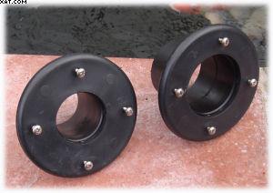 Pond plumbing, pipe work and fittings, ball valves, slide