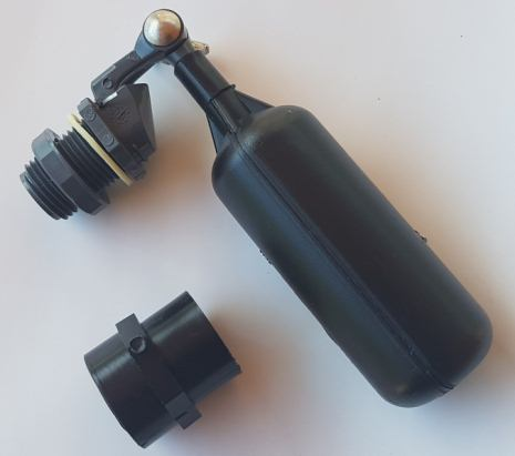 Automatic water top up float valve